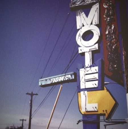 a photo of a motel sign by Chase Jarvis