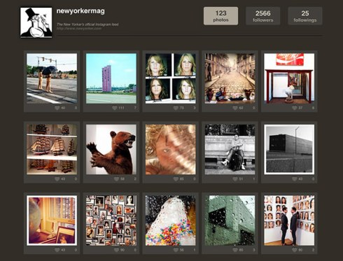 The New Yorker Puts Instagram Account in the Hands of its Photographers