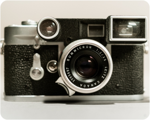 Leica M3 with Leitz Summicron 35mm 1:2.0 type I Canada
