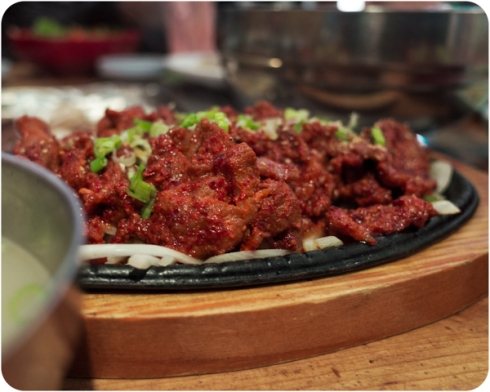 Korean BBQ. Garden Grove, CA. Copyright © 2014. stFOTOgrafer. All Rights Reserved!
